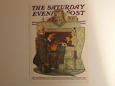 $ CDN8.94 • Buy The Saturday Evening Post OCT 22 1927  (REPRINT) Norman Rockwell (COVER ONLY)