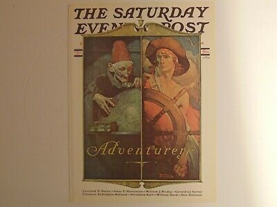 $ CDN8.80 • Buy The Saturday Evening Post April 14 1928 (REPRINT) Norman Rockwell (COVER ONLY)