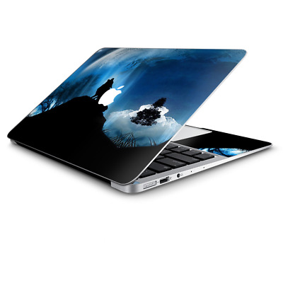 $14.98 • Buy Skin Wrap For Macbook Air 11 Inch  Howling Wolf Moon
