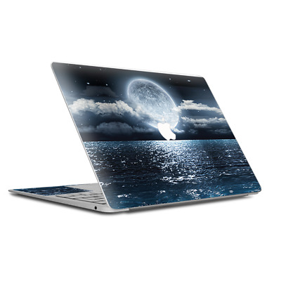 $15.98 • Buy Skin Decal Wrap For MacBook Air Retina 13 Inch - Giant Moon Over The Ocean