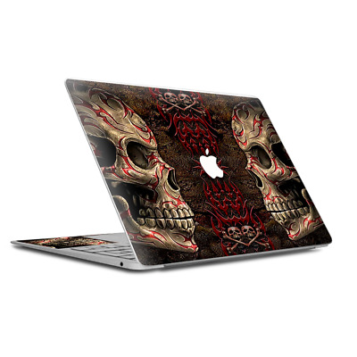 $15.98 • Buy Skin Decal Wrap For MacBook Air Retina 13 Inch - Wicked Evil Tribal Skull Tattoo