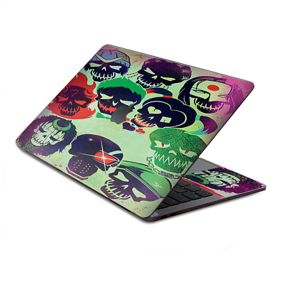 $15.98 • Buy Skin Decal Wrap For MacBook Pro 13  Retina Touch  Skull Squad