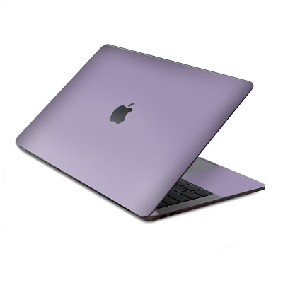 $15.98 • Buy Skin Decal Wrap For MacBook Pro 13  Retina Touch, Solid Lavendar
