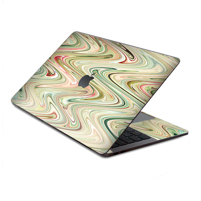 $15.98 • Buy Skin Decal Wrap For MacBook Pro 13  Retina Touch  Marble Abstract Motion