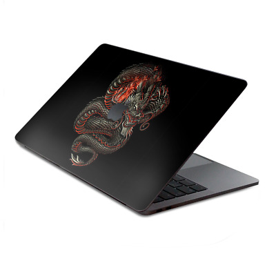 $16.98 • Buy Skins Wrap For MacBook Pro 15 Inch Retina Touch  Dragon Snake Serpant