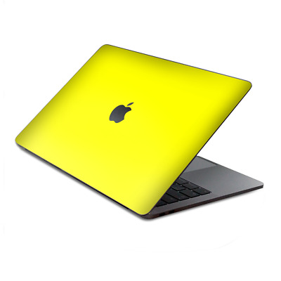 $16.98 • Buy Skins Wrap For MacBook Pro 15 Inch Retina Touch  Bright Yellow