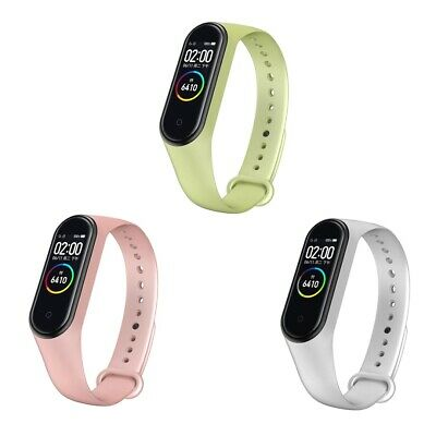 For Xiaomi Mi Band 4/3 Silicone Bracelet Strap  Smooth Wrist Band Replacement • 1.49$