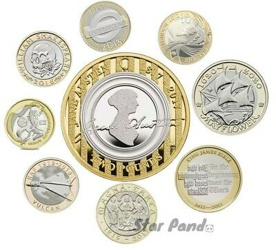 £5.40 • Buy Rare £2 Coin Two Pound Circulated And Brilliant Uncirculated BU Royal Mint Pack
