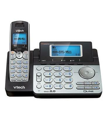 $ CDN133.11 • Buy Vtech 2-Line Cordless Phone Answering Sys Dual Caller ID/Call Waiting VT-DS6151