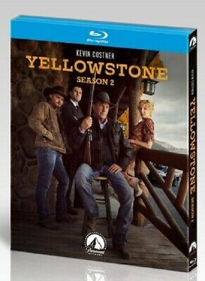 AU74.95 • Buy Yellowstone Season 2 Series Two Second (Kevin Costner Luke Grimes) New Blu-ray
