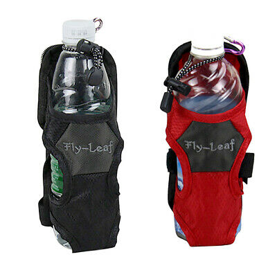 AU11.50 • Buy Outdoor Hiking Camping Water Bottle Holder Belt Carrier Pouch Nylon Bag