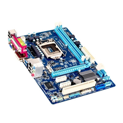 AU94.16 • Buy Motherboard For GIGABYTE GA-B75M-D3V LGA1155 DDR3 Micro ATX Without CPU
