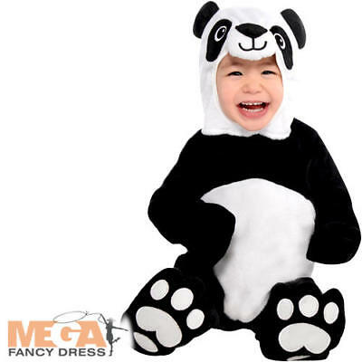 Baby Panda Boys Fancy Dress Animal Zoo Bear Toddler Infants Costume Outfit New • 15.49£