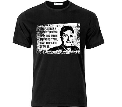 George Orwell Quote T Shirt Black • 12.99£
