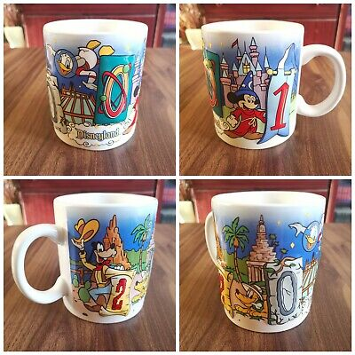 Official Disneyland Paris 2001 Anniversary Annual Mug Vintage 3D Large • 14.99£