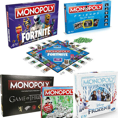 £18.95 • Buy Monopoly Board Game - Brand New And Sealed - Lots Of Editions To Choose From!
