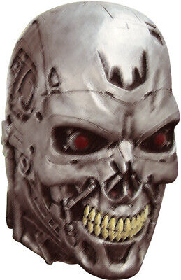 Official Terminator 2 Deluxe Endoskull Latex Head Mask • 43.98£