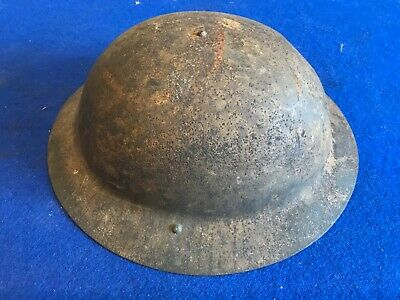 WW1 British Mk1 Brodie Helmet Raw Edged Genuine  • 295£