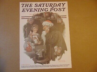 $ CDN8.80 • Buy Saturday Evening Post DEC 9,1916  (REPRINT) Norman Rockwell (COVER ONLY)