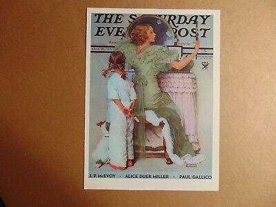 $ CDN8.94 • Buy Saturday Evening Post Oct 21,1933  (REPRINT) Norman Rockwell (COVER ONLY)