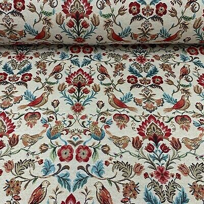 Morris Bird   Tapestry Designer  Cotton 140cm Wide Curtain/Upholstery Fabric • 19.99£