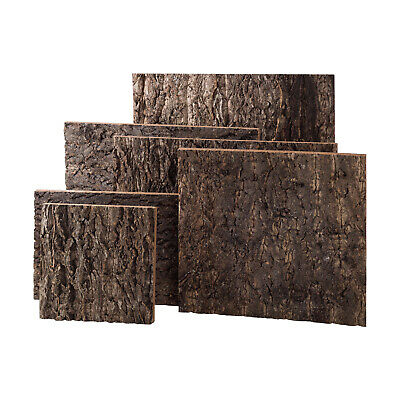 £9.99 • Buy Reptile Cork Terrarium Backgrounds - Real Cork Bark - Sizes Are Approximate