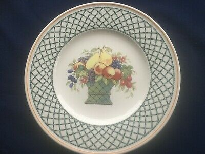 Villeroy & Boch Basket 10 1/2  Dinner Plate (very Minor Scratches) • 12.50£
