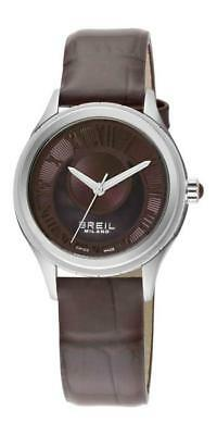 Breil Milano 939 Lady Collection BW0572 Analog Leather Braun • 170.10£