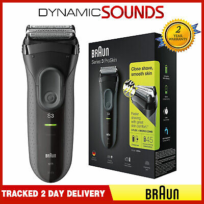 View Details Braun Series 3 ProSkin 3000s Men Electric Rechargeable Shaver Smooth Razor • 54.25£