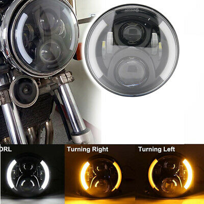 AU49.90 • Buy 1 PC 50w 7  Inch LED Motorcycle Projector Turn Signal DRL Headlight