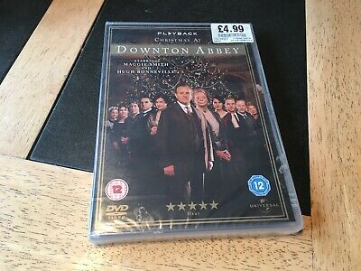 Christmas At Downton / Downtown Abbey Dvd Brand New Sealed • 7.99£