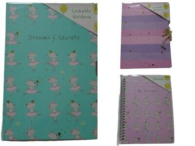 Secret Diary Lockable A5 Note Book  Personal Kids Journal  • 3.75£