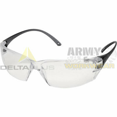Delta Plus Clear Lens Ultra Lightweight UV400 Safety Glasses Specs Goggles Adult • 6.99£