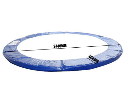 AU45 • Buy 8Ft Replacement Outdoor Round Trampoline Safety Spring Pad Cover