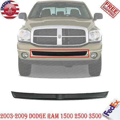 $57 • Buy Front Bumper Inner Filler Without Tow Hook Holes For 2003-2009 Dodge Ram