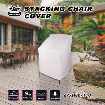 AU17.99 • Buy Outdoor Waterproof Stacking Chair Cover  Stackable Chair Cover Weatherproof