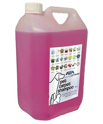 Carpet Cleaning Shampoo Solution Pet Odour Eliminator Bubble Low Foam 5L NEUTRA • 10.45£