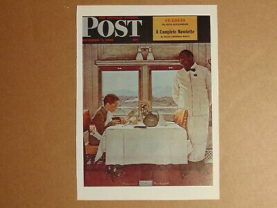 $ CDN8.94 • Buy The Saturday Evening Post Dec 7,1946  (REPRINT) Norman Rockwell (COVER ONLY)