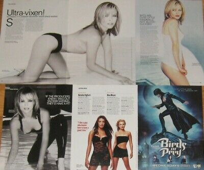 $ CDN25.54 • Buy Dina Meyer FULL PAGED Magazine CELEBRITY CLIPPINGS Photos Article
