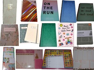 Things To Do Today Note Book Pad List Journal Mrs Hinch Organiser Daily Planner • 5£