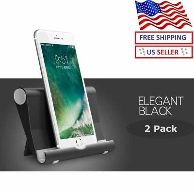 $5.49 • Buy Universal Foldable Cell Phone Desk Stand Holder Mount Cradle For Phone Tablet