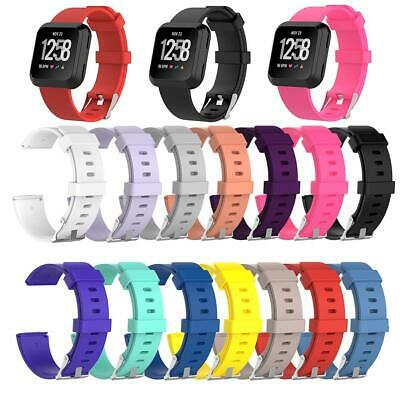 $ CDN9.18 • Buy Soft Silicone Replacement Sport Wristband Watch Band Strap For Fitbit Versa