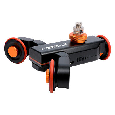 L4 Motorized Camera 3 Wheel Dolly II Electric Track Slider Pully Car • 48.56£