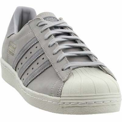 $ CDN66.27 • Buy Adidas Superstar 80s Sneakers Casual    - Grey - Mens