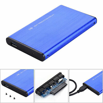 AU43.98 • Buy USB 3.0 1TB External Hard Drive Disk HDD 2.5'' Fit For PC Windows Portable