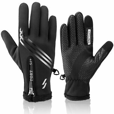 $11.98 • Buy Thermal Waterproof Winter Ski Gloves Touch Screen Warm Mittens Motorcycle Snow