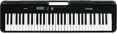 $119 • Buy Casio Casiotone CT-S200 (Black) - 61-key Digital Piano With 48-note Polyphony