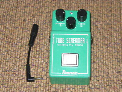 Used Ibanez TS808 Tube Screamer Reissue +short Cable (coupler)  (NO: Box,pw,bat) • 119.99$