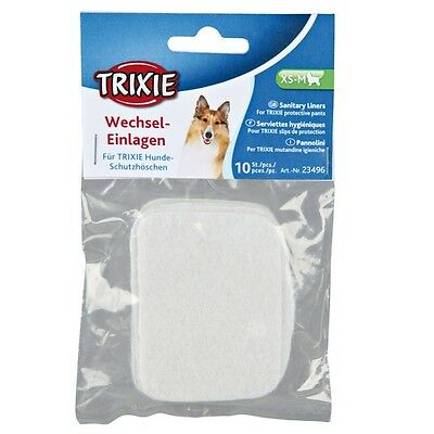 Trixie Spare Pads For Dog Pants - 3 Sizes - 10 In A Pack  • 2.99£