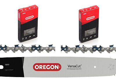 15  Oregon Chainsaw Bar 2x 56DL Chains For Stihl MS460 MS461 MS462 MS500i & 046 • 57£